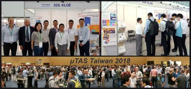 Lot of people at exhibition microtas in 2018