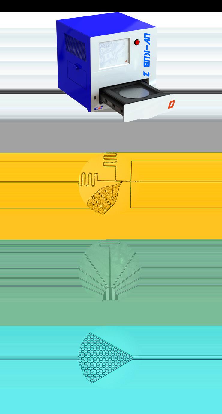 LED masker : UV-KUB 2
