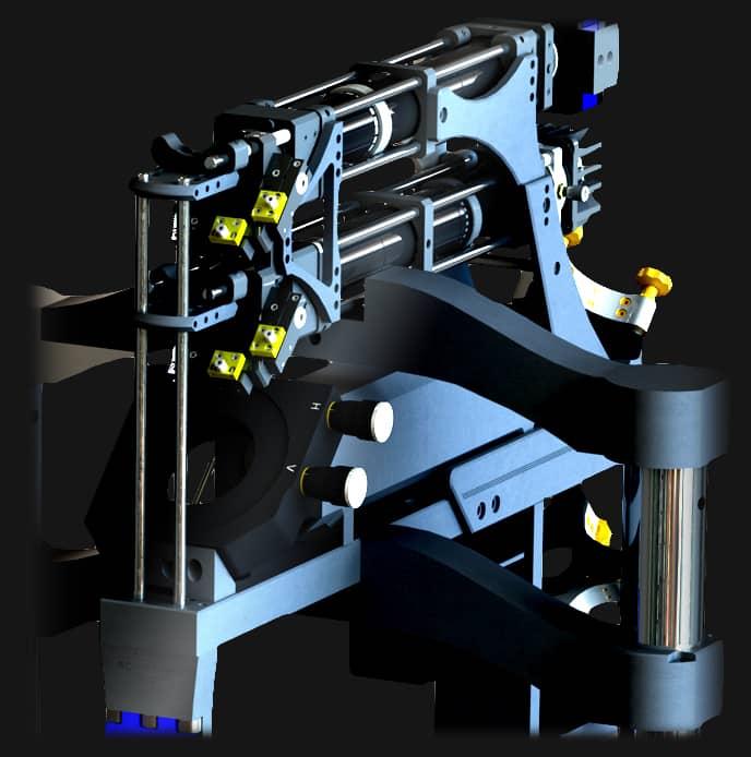Chaine de traitement optique de l'équipement d'écriture directe laser Dilase 250