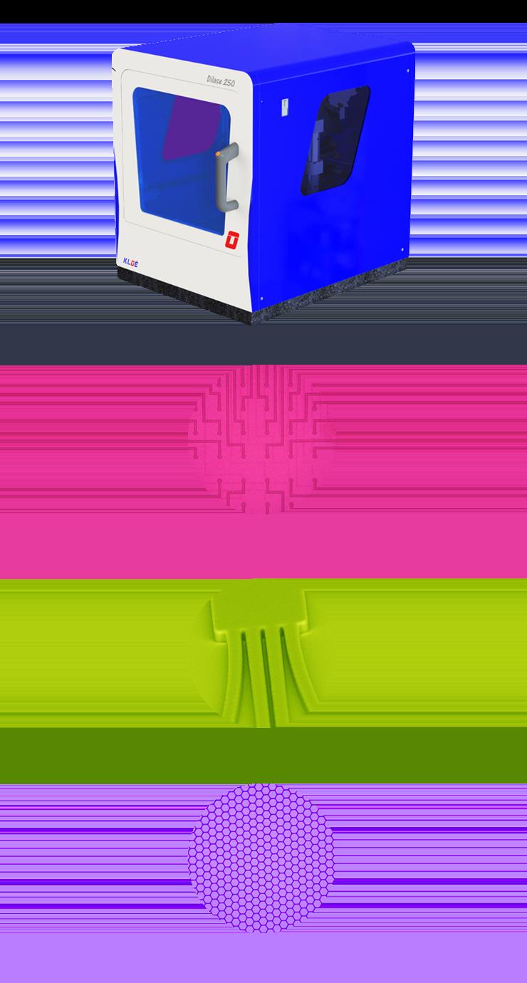 Système de photolithographie laser Dilase 250