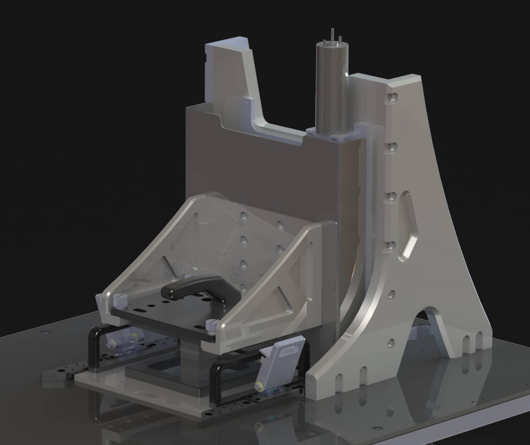 Porte-échantillon motorisé de l'imprimante 3D Dilase 3D