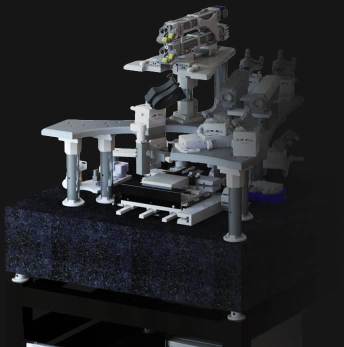 Chaîne de traitement optique spécifique de l'équipement de lithographie Dilase 650