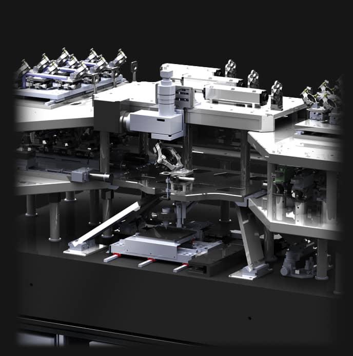 Chaîne de traitement optique spécifique de l'équipement de lithographie Dilase 750
