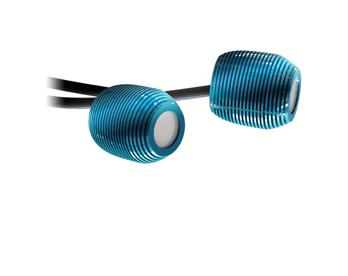 Deux têtes optiques du sécheur de colles à LED-UV K-ILU 2