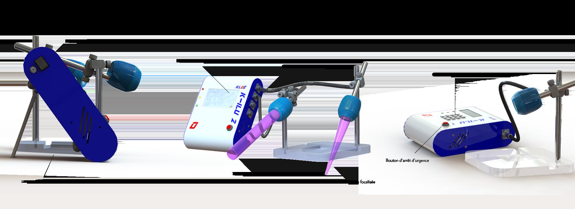K-ILU - SECHEURS DE COLLES A LED UV