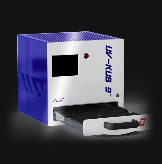 Insolateur à LED-UV UV-KUB 9 avec tiroir ouvert