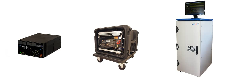 3 modèles de solutions de monitoring compatibles avec les capteurs K-FBG