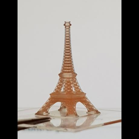 Example of 3D biotechnology structure: Eiffel Tower