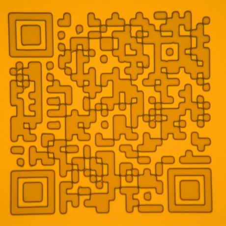 Example of microelectronics device: QR code