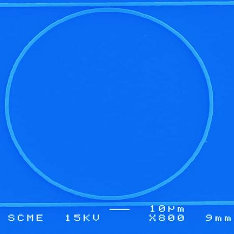 Example of photonics device: microring