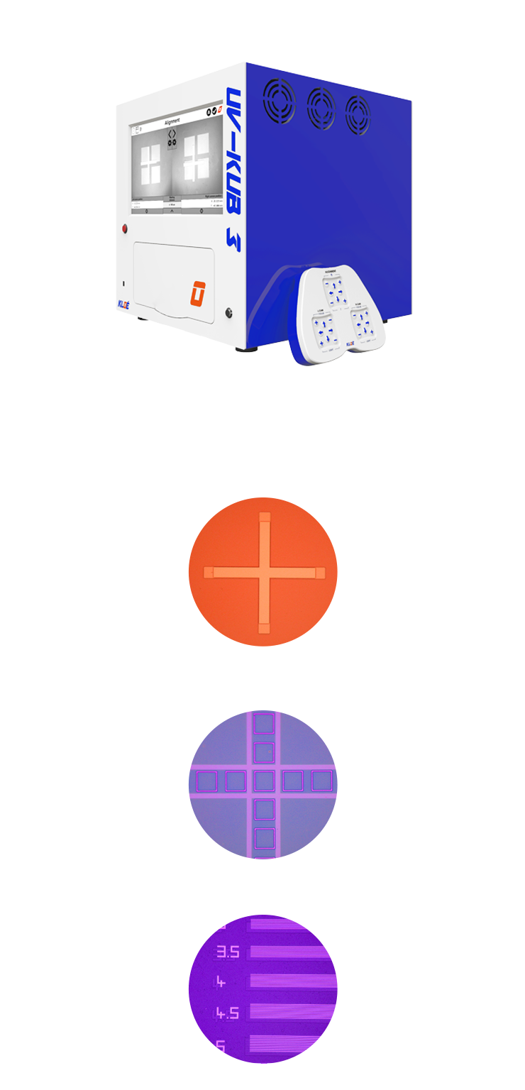 Mask aligner : UV-KUB 3